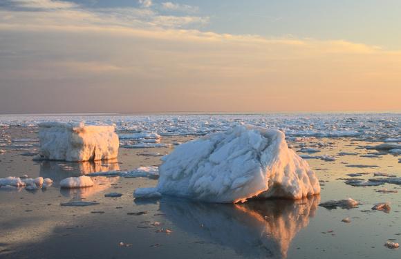 Cape Cod Bay Ice March 2015