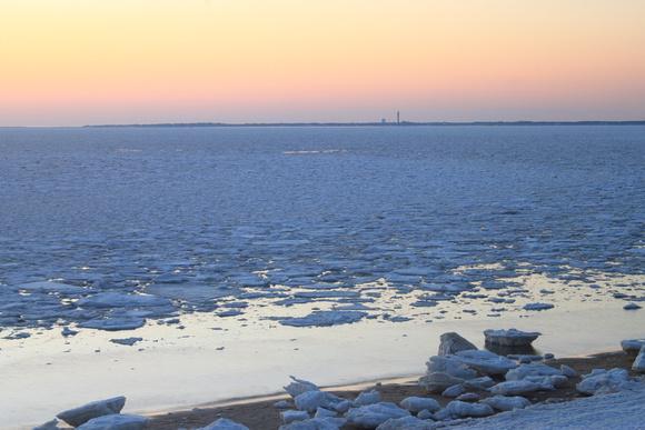 Cape Cod Bay Ice Truro Provincetown March 2015
