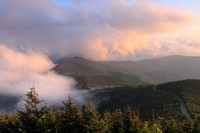 Mount Mitchell Sunset