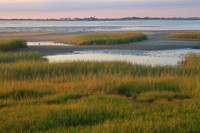 Barnstable Harbor Marsh and Sandy Neck Lighthouse from Long Pasture