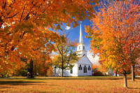 New Salem 1794 Meetinghouse Autumn