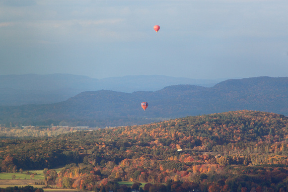 Mount Holyoke Connecticut Valley and Balloons