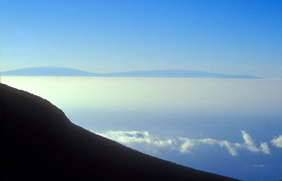 Hawaii Islands from Haleakala Summit