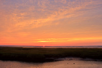 Bass Hole Yarmouth Sunset